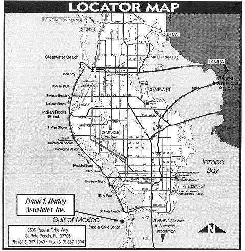 St  Petersburg, Florida Map